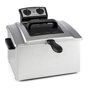 Klarstein QuickPro XXL 3000 фритюрник 5л 1,5кг 3000W таймер, неръждаема стомана