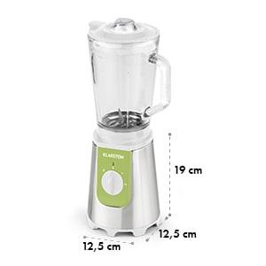 Shiva Mixeur Smoothie 0,8l Pichet en verre 350W Sans BPA inox -vert