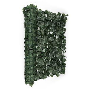 Fency Dark Ivy Clôture pare-vue Paravent 300x150 cm lierre -vert foncé