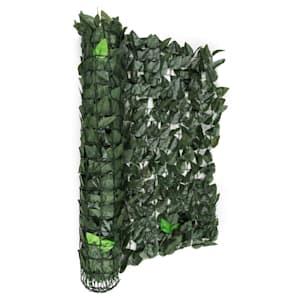 Fency Dark Leaf valla de protección visual y anti viento 300x100 cm mixverde oscuro