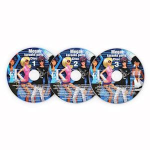 Set 3 x CD-G pour lecteur karaoké