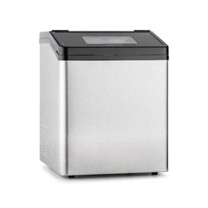 Klarstein Powericer ECO 3 Máquina de gelo 450W 30 kg/dia de aço