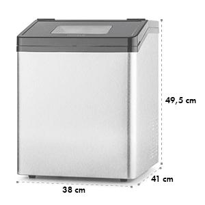 Powericer ECO 3 Machine à glaçons 450W 30 kg/jour acier