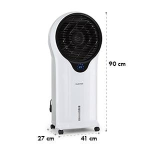 Whirlwind, 3 v 1 ochladzovač vzduchu, ventilátor, zvlhčovač vzduchu, 5.5 l, 110 W, biely