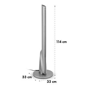 Skyscraper Heat, teplovzdušný ventilátor, keramický, vežový, oscilácia, časovač, 1600/2500 W