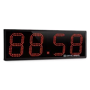 Timeter Sporttimer Tabata Stopwatch Cross-Training 4 Cijfers geluidsignaal