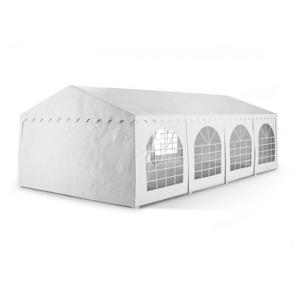 Sommerfest 4x8m 500 g/m² Tendone da Festa Gazebo da Festa PVC Impermeabile Ignifugo