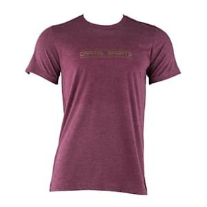 Trainings-T-Shirt für Männer Size S Maroon
