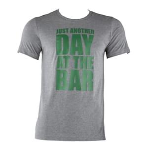 Trainings-T-Shirt für Männer Size L Grau meliert