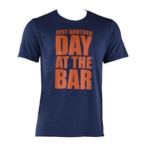 Trainings-T-Shirt für Männer Size S Navy