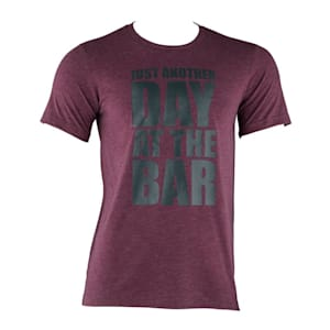Trainings-T-Shirt für Männer Size L Maroon