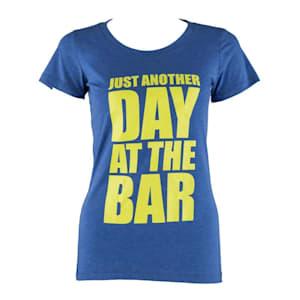 Trainings-T-Shirt für Frauen Size M True Royal