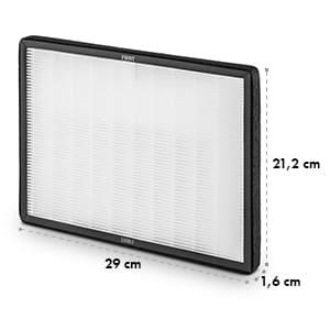 HEPA filter, jemný prachový filter do odvlhčovača, náhradný diel, 29 x 21,2 cm