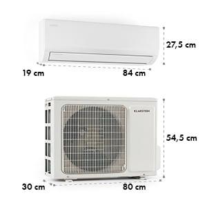 Windwaker Pro 12, inwerter/klimatyzator splitowy, 12000 BTU, A++, biały