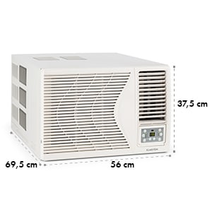 Frostik, okenná klimatizácia, 9000 BTU, trieda A, R32, diaľkový ovládač