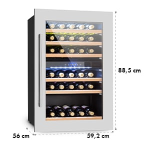 Vinsider 35D beépíthető borhűtő