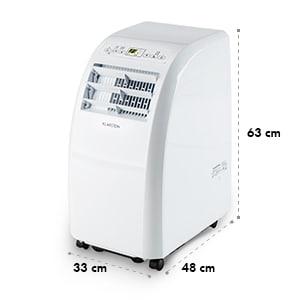 Metrobreeze Rom klimatyzator 10000 BTU klasa efektywności energetycznej A+ pilot biały