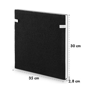 3-v-1 filter, HEPA filter, filter s aktívnym uhlím, čistič vzduchu Vita Pure 2G