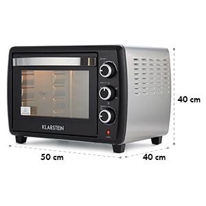 Omnichef 30 2G Mini Oven Rotisserie 1500W 30 l Black