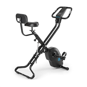 Azura X2 X-Bike max. 120 kg polssensor inklapbaar 4 kg - zwart
