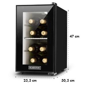 Beerlocker Mini réfrigérateur à boissons minibar 21L classe A+ - noir