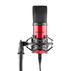 MIC-900-RD USB Condenser Microphone red Niere Studio