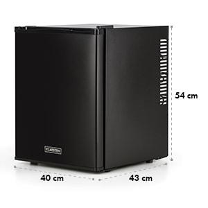 Klarstein Happy Hour Minibar, Hladilnik, 32 l, tiho delovanje, A+, črne barve