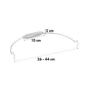 Hotrod Quickstick L Anse pour cocotte diam. 26  à 44 cm acier inoxydable