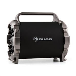 Blaster M Enceinte portable Bluetooth effet de lumière LED AUX SD USB FM