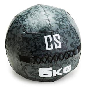 Restricamo Wall Ball Medizinball PVC 6kg Camouflage