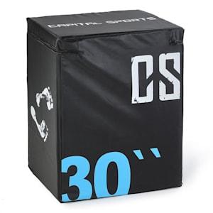 Rooksy Soft Jump Box Plyo Box 76x61x51 cm schwarz