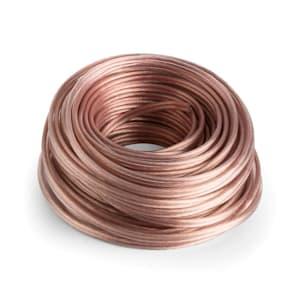 NUMAN Cable OFC de cobre puro para altavoces 2 x 4 mm 30 m transparente