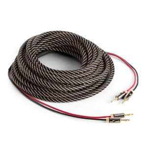 NUMAN Cable OFC de cobre puro para altavoces 2 x 3,5 mm 10 m con conectores