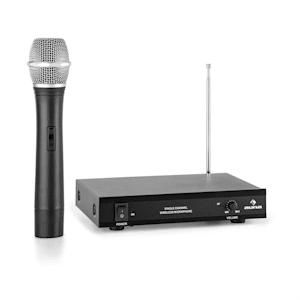 VHF-1-H 1-Kanal-VHF-Funkmikrofon Set Handmikrofon 100m