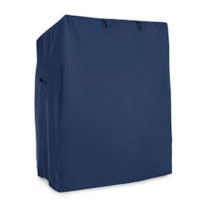 Hiddensee, strandkosár takaró, védőhuzat, 115x160x90 cm, vízhatlan, kék