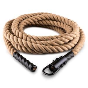 Power Rope H4 Schwungtau | mit Öse | Länge: 4 m | Ø 3,8 cm | Hanf