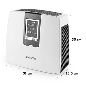 Tramontana 6-in-1 Air Filter Air Purifier Ioniser Ozone UV Black
