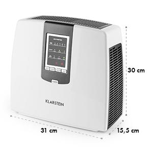KLARSTEIN TRAMONTANA, 6-în-1, Filtrul de aer, purificator, ionizator de ozon, UV culoare: neagră