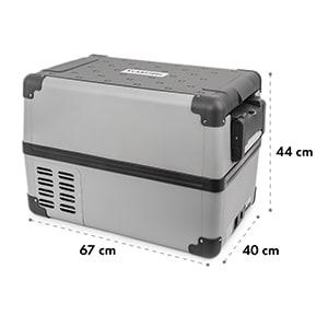 Survivor 35, hűtőszekrény, fagyasztó, hordozható, 35 l/-22 és 10 °C, váltó/egyenáram