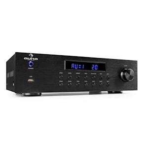 AV2-CD850BT 4-Zone Stereo Amplifier 8 x 50 W RMS Bluetooth USB CD black
