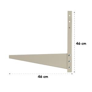 LUA-AC-WM-306 Wandhalterung für Klimaanlagen Split-Klimagerät beige