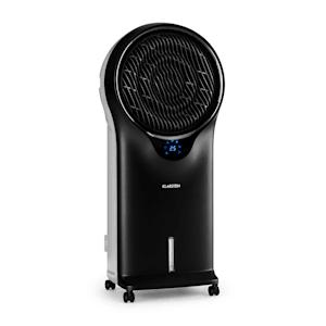 Klarstein Whirlwind 3-en-1 rafraîchisseur ventilateur humidificateur d'air noir