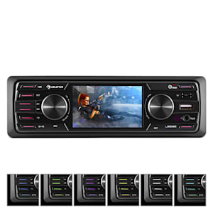 "MD-550BT Autoradio / Moniceiver Deckless BT USB SD 3""TFT AUX Fernbedienung"