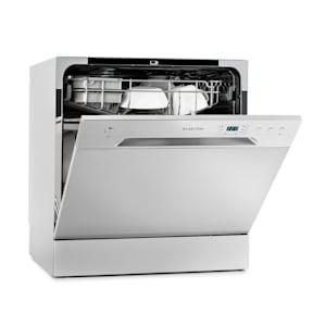 Amazonia 8 - Mini lavastoviglie | 1620 Watt | Per 8 coperti | Rumorosità operativa: 49 dB | Dimensioni: 55 x 59 x 49,5 cm (LxAxP) | Posizionamento libero | Aquastop