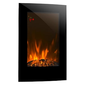 Lausanne Vertical Electric Fireplace 2000 Watts Remote Control