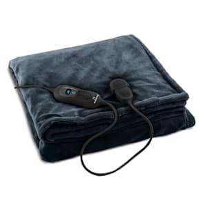 Dr. Watson XL Grelna blazina 120W, pralna 180x130cm, mikropliš, modro-