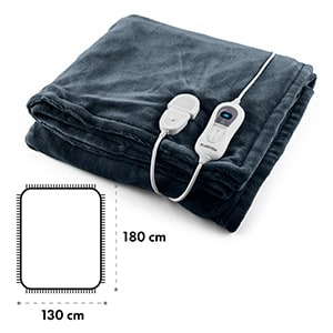 Dr. Watson XL výhřevná deka 120 W, pratelná, 180x130 cm, mikroplyš, mo