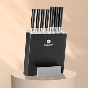 Kitano 8 delar Knivset med block precisionsblad japansk design