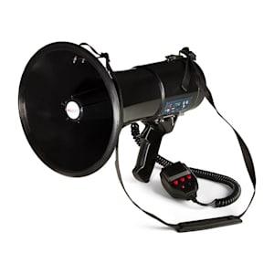 80W Megaphon MEGA080USB Mp3-Player USB-/Rec-Funktion 700m schwarz