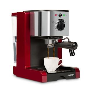 Passionata Rossa 15, espreso kavni aparat, 15 barov, kapučino, mlečna pena, rdeče barve
